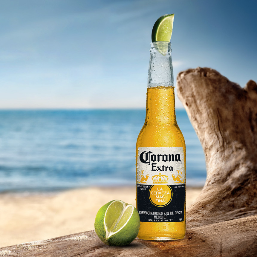Corona Extra. Find your Beach.